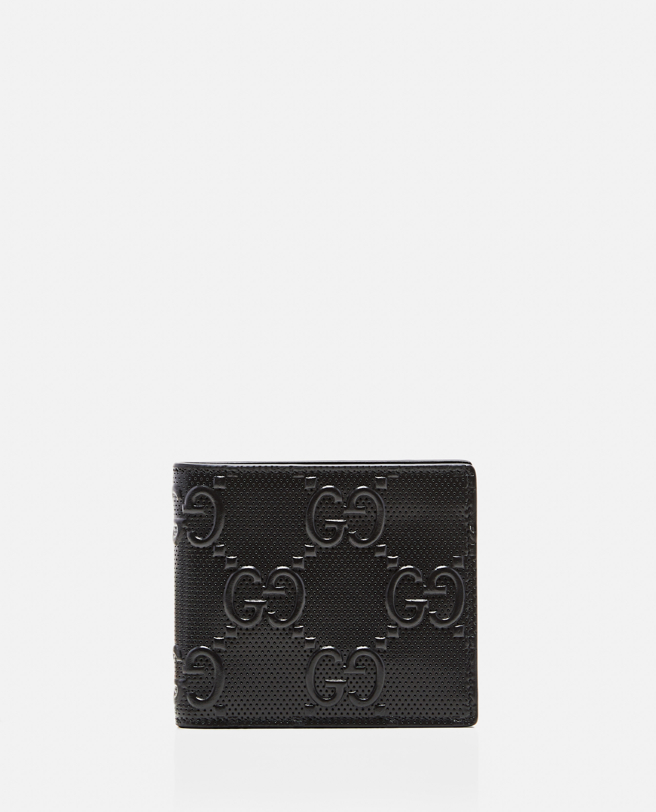 Coin purse with embossed GG motif