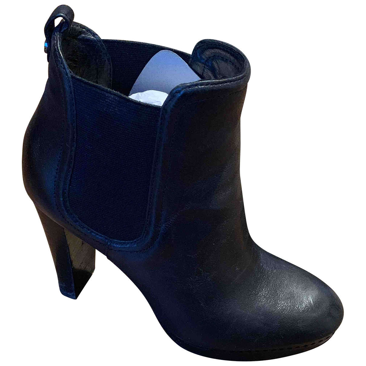 Michael Kors \N Black Leather Boots for Women 6 US
