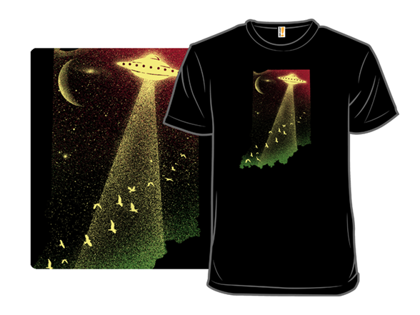 Indiana Ufo T Shirt
