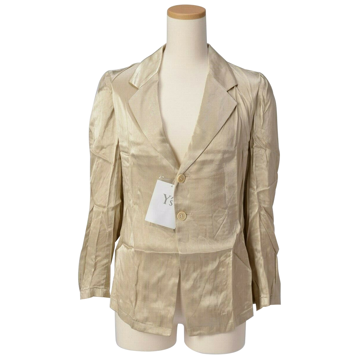 Yohji Yamamoto - Veste   pour femme - beige