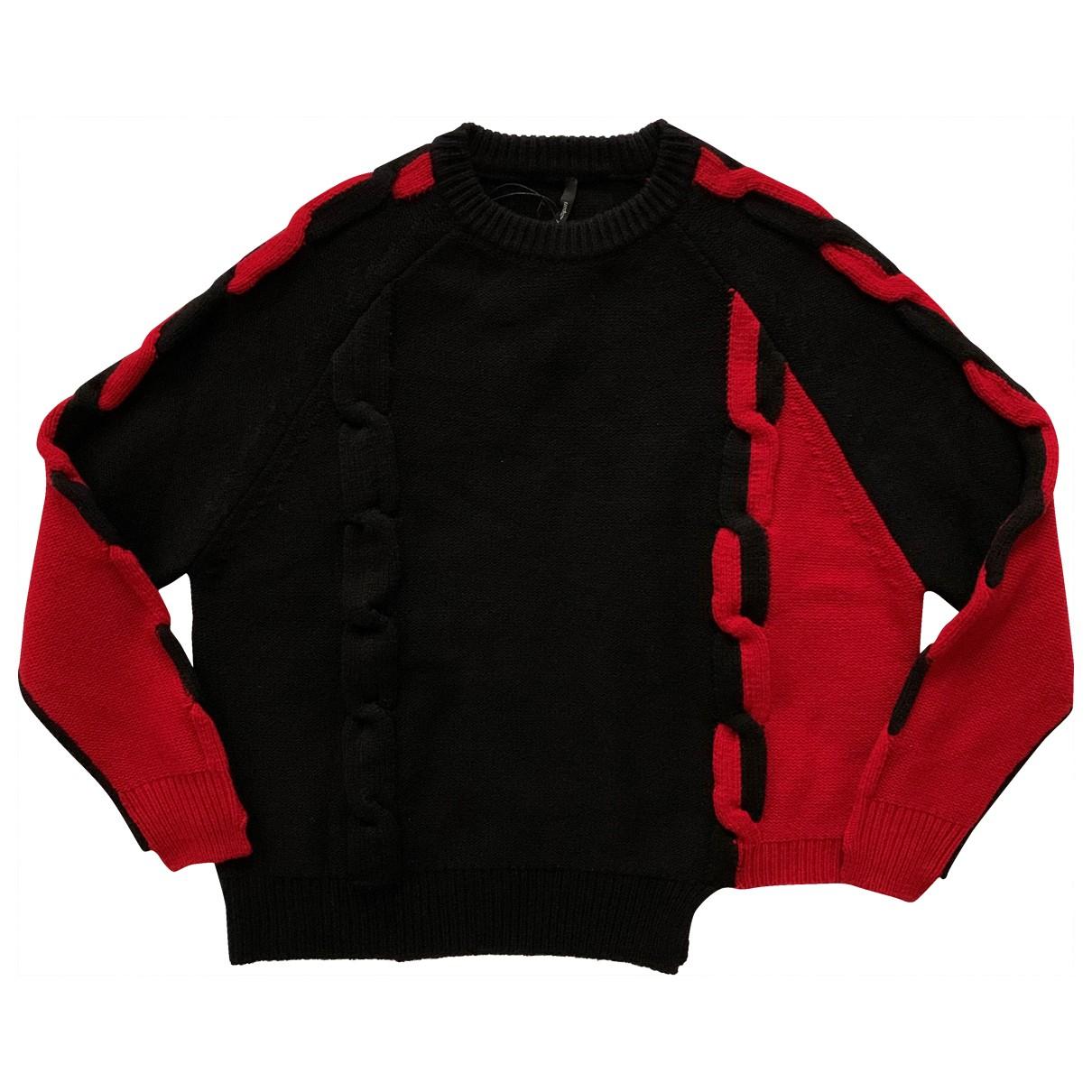 Non Signé / Unsigned \N Black Wool Knitwear for Women 42 IT