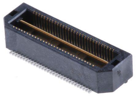 Samtec , Q Strip QTH, 60 Way, 2 Row, Straight PCB Header