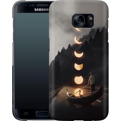 Samsung Galaxy S7 Smartphone Huelle - Moon Ride von Enkel Dika