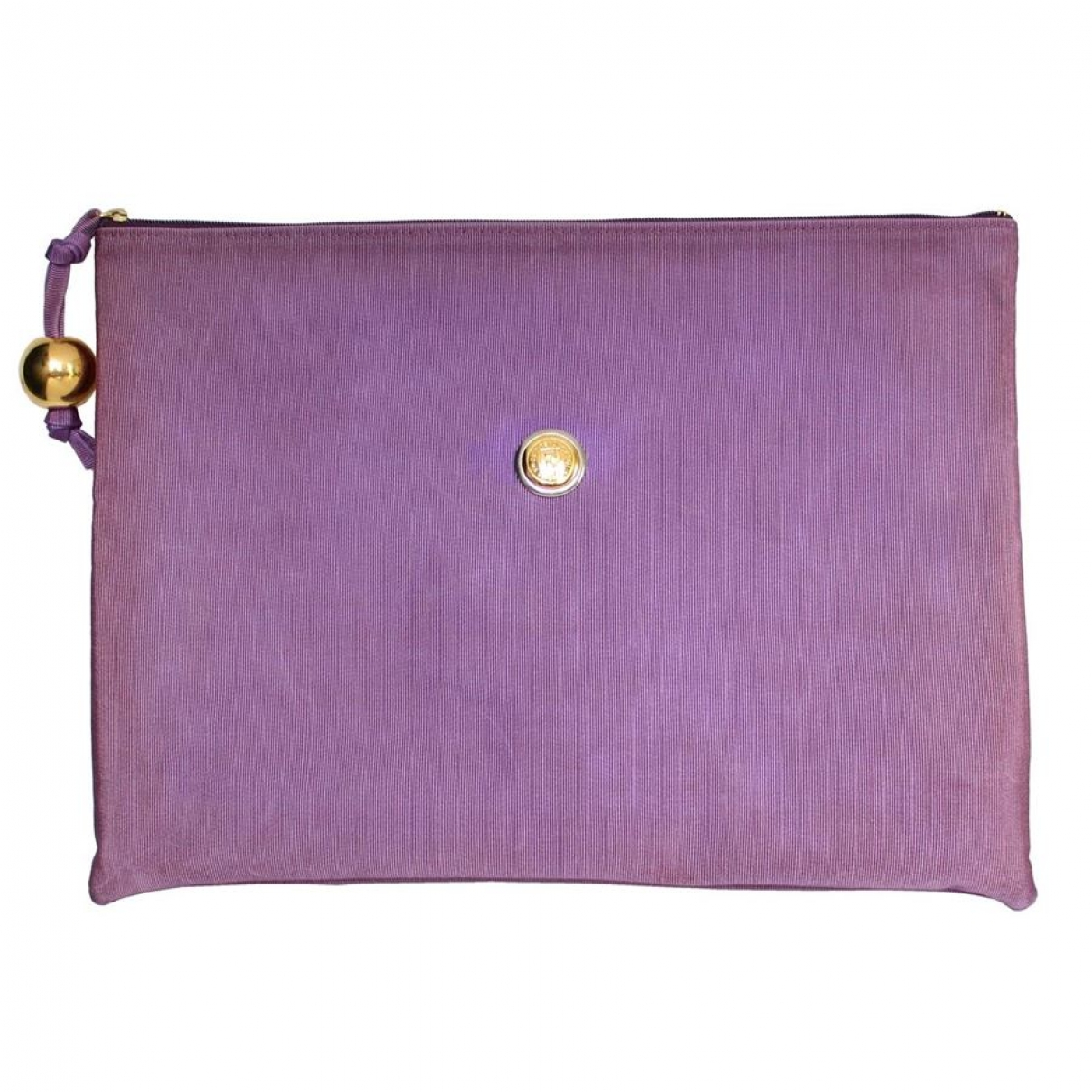 Fendi - Pochette   pour femme en soie - violet