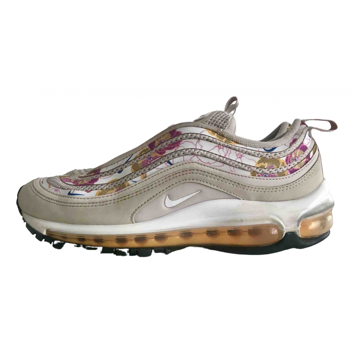 Nike Air Max 97 Sneakers in  Beige Leder