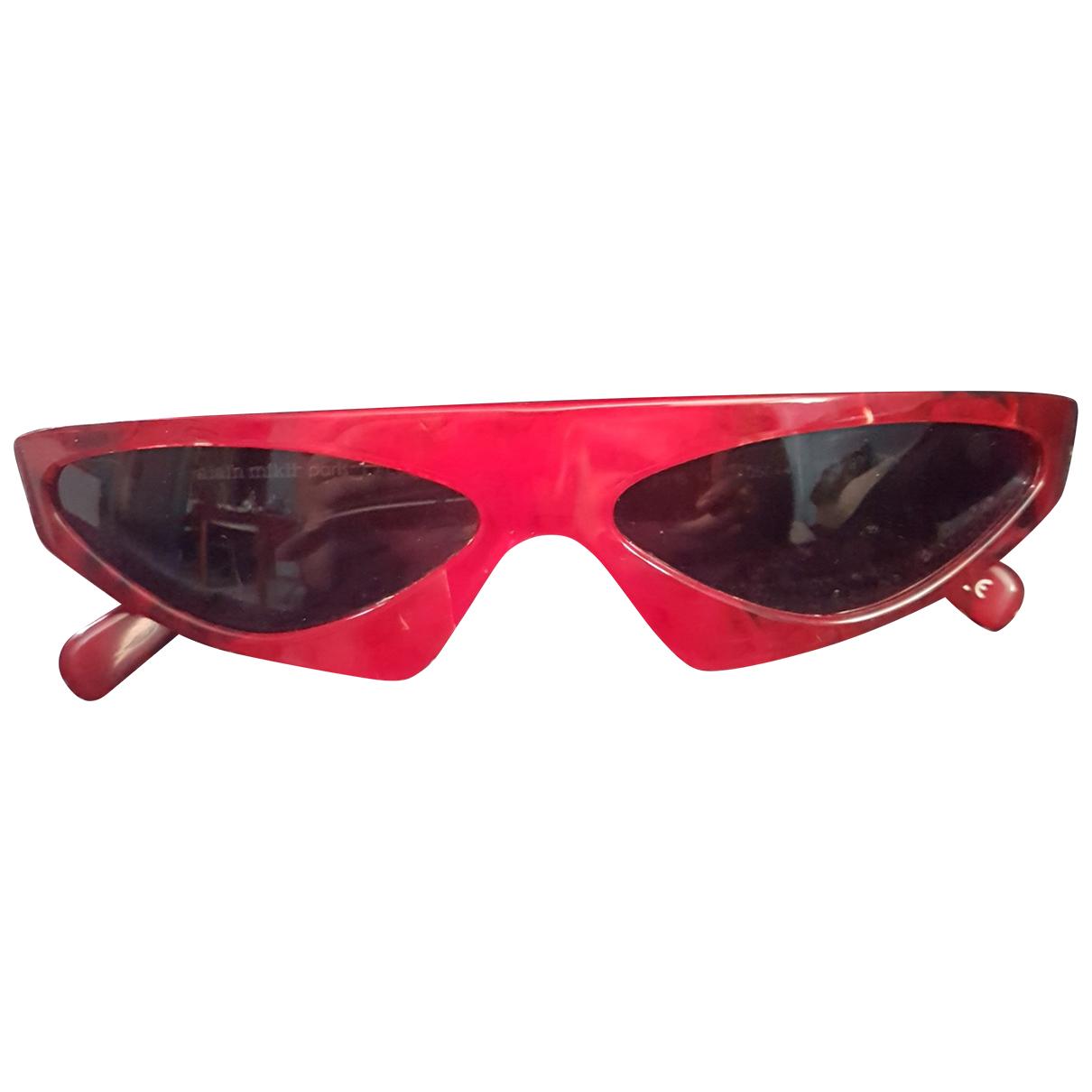 Alexandre Vauthier N Red Sunglasses for Women N