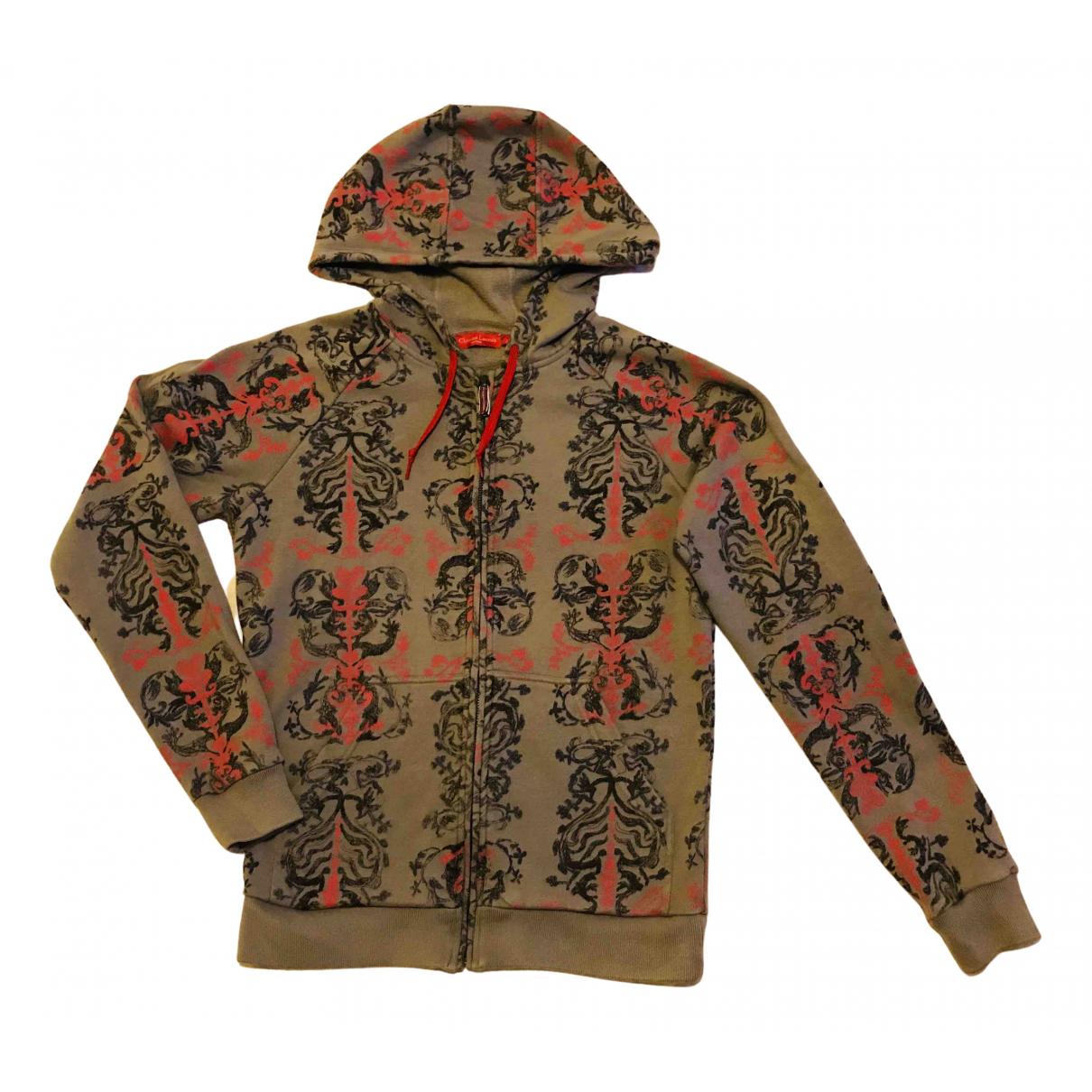 Christian Lacroix \N Pullover.Westen.Sweatshirts  in  Grau Baumwolle