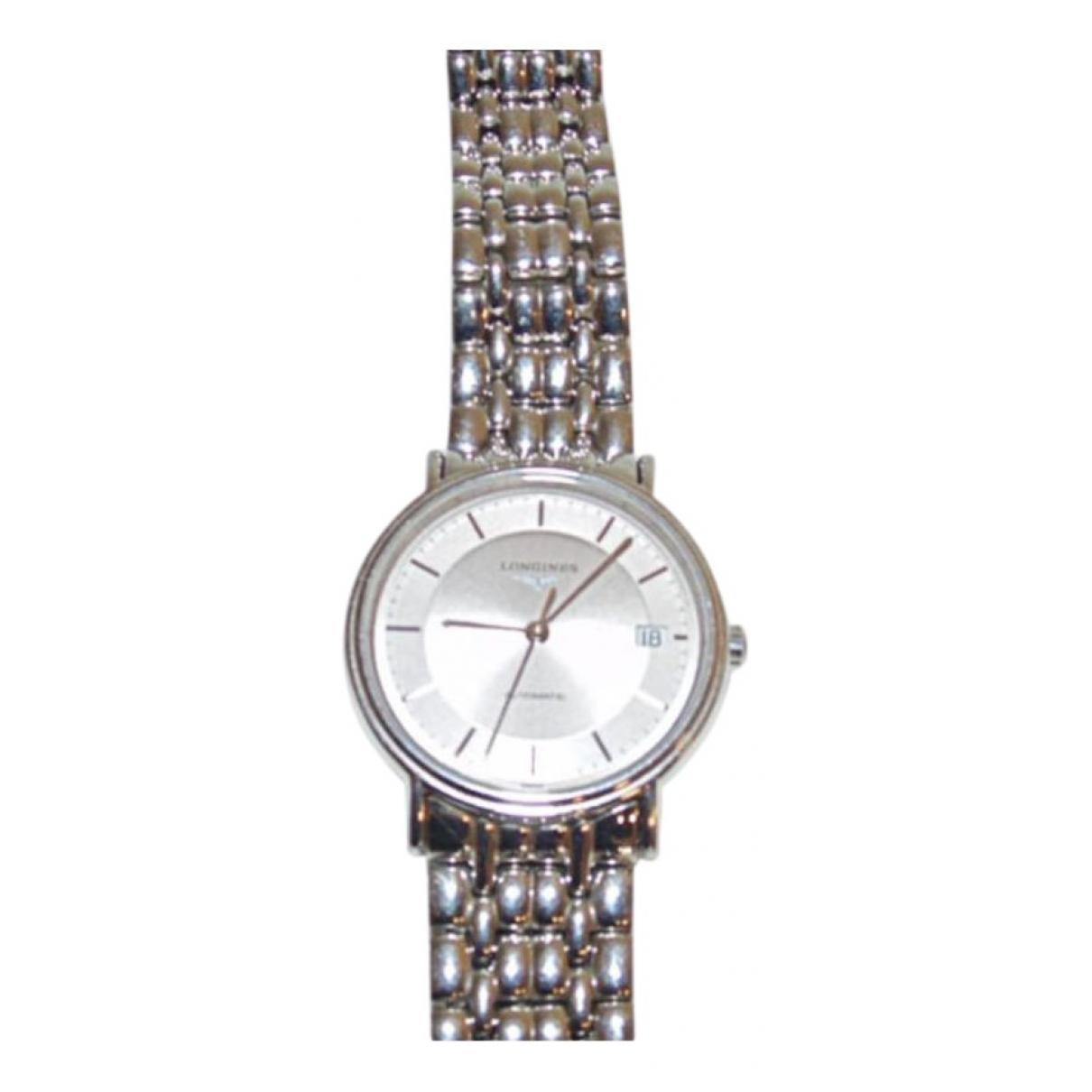 Longines \N Uhr in  Silber Stahl