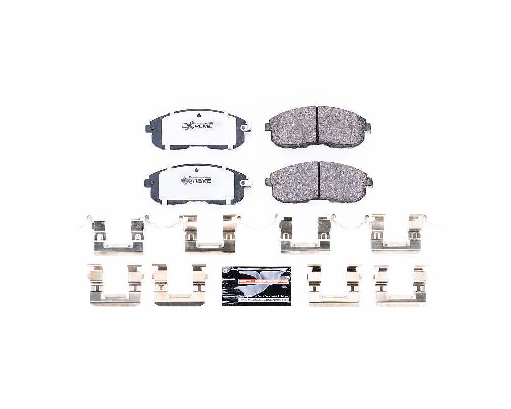 Power Stop Z26-815A Z26 Extreme Street Brake Pads w/Hardware Front Infiniti I35 2002-2004