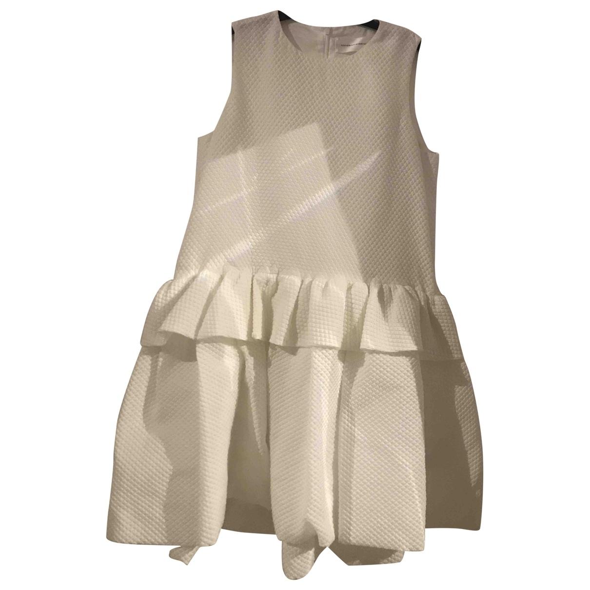 Victoria, Victoria Beckham \N White dress for Women 12 UK