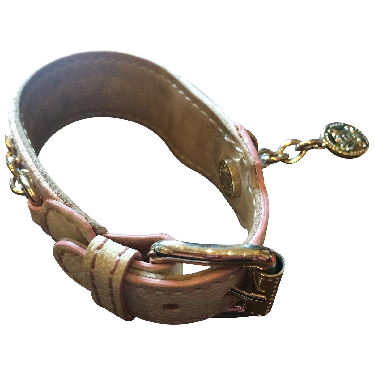 Celine \N Pink Leather bracelet for Women \N