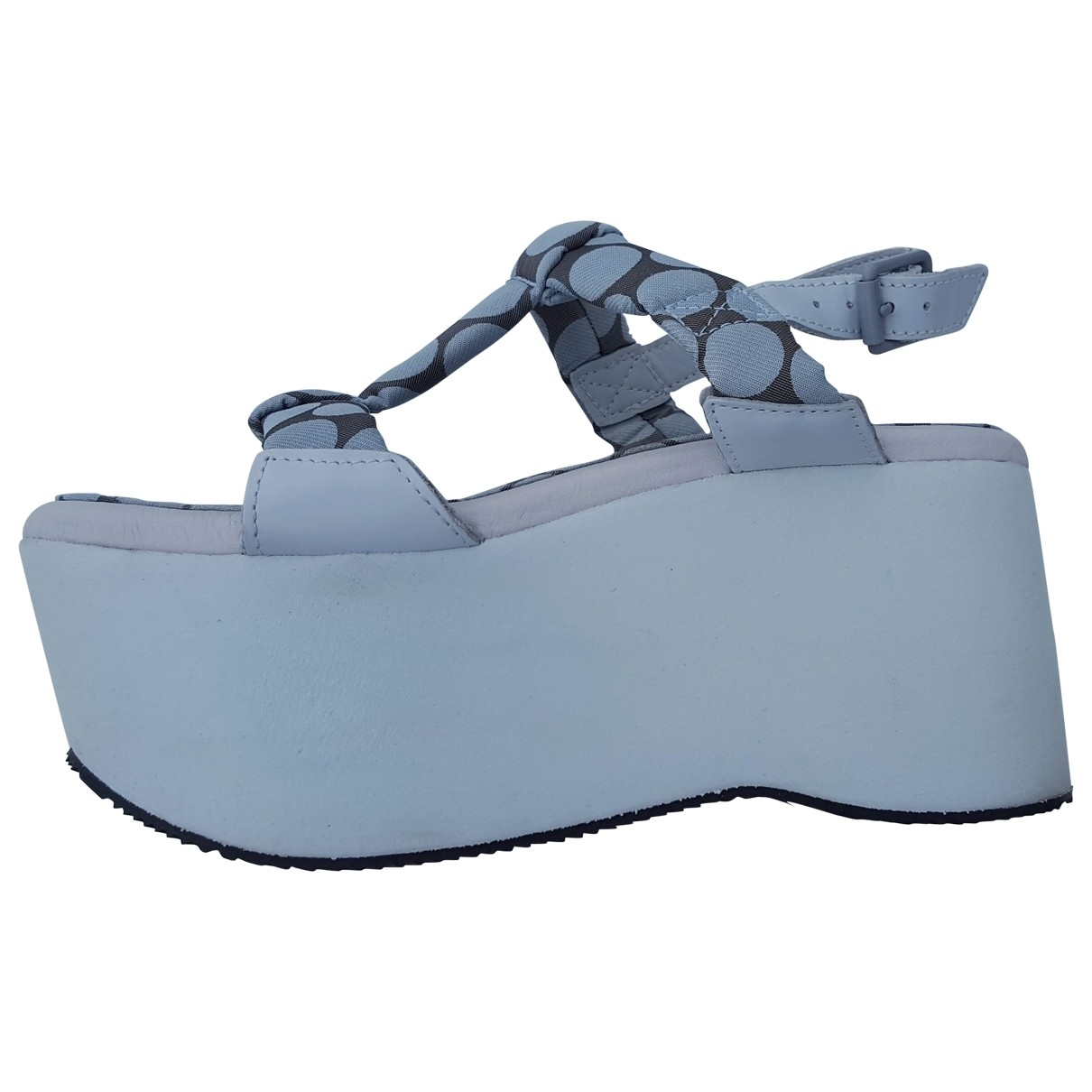 Adidas X Opening Ceremony \N Sandalen in  Weiss Polyester