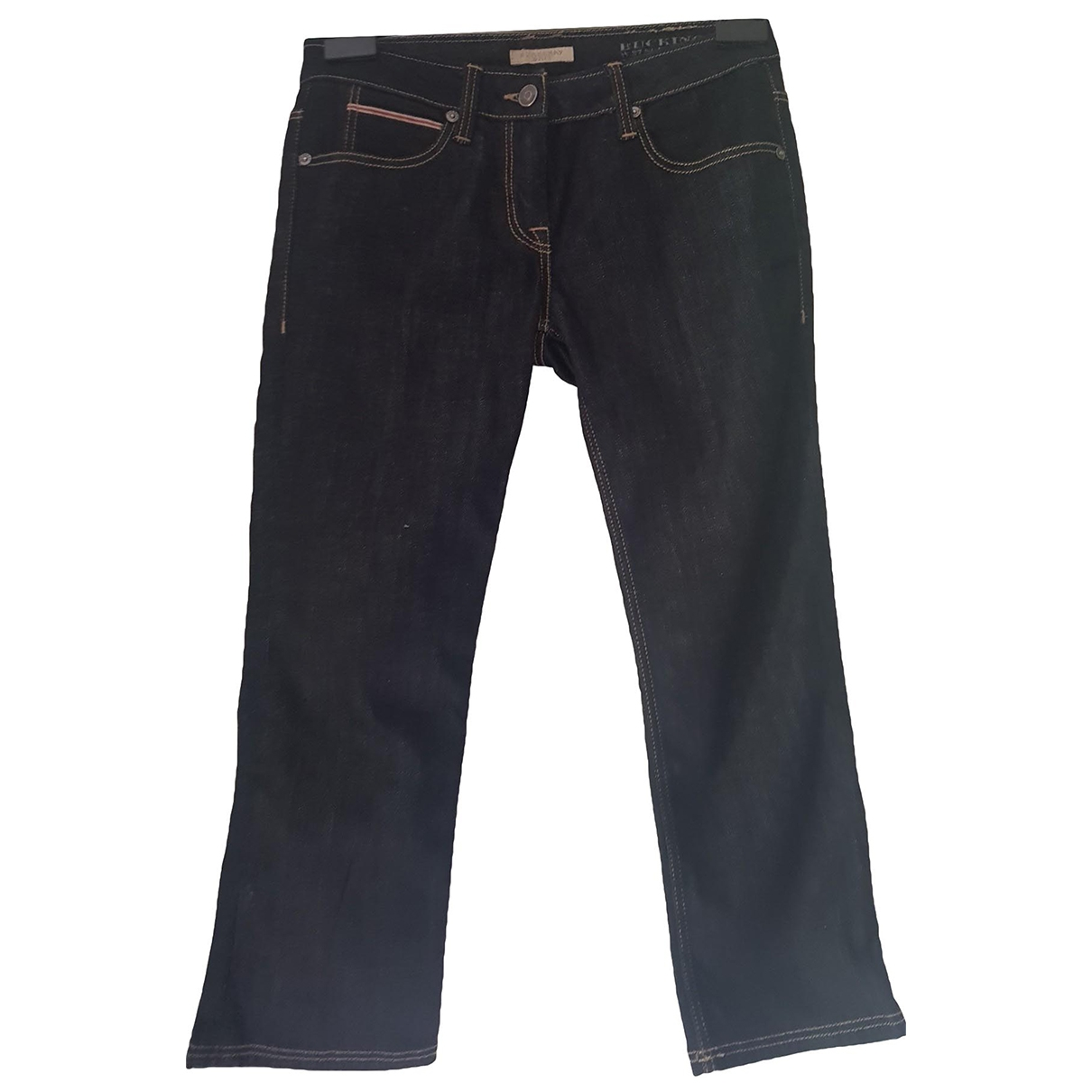 Burberry \N Blue Cotton - elasthane Jeans for Women 27 US