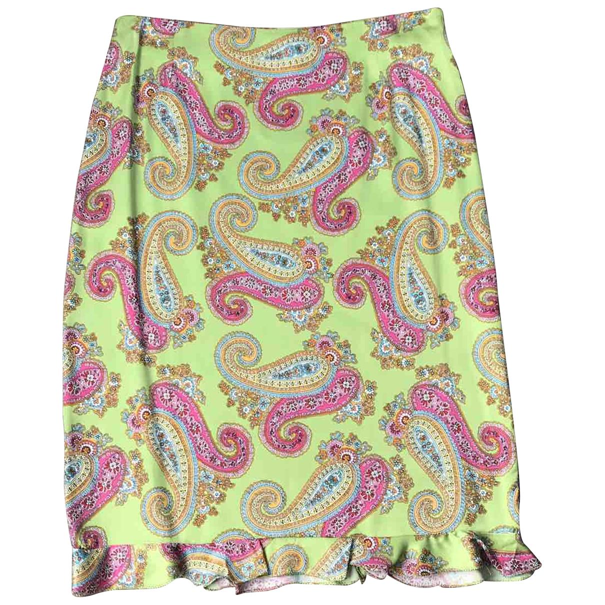 N. Peal - Jupe   pour femme en coton - elasthane - rose
