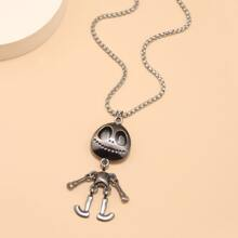 Guys Figure Charm Necklace