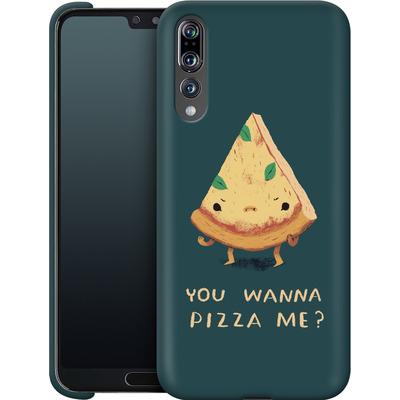 Huawei P20 Pro Smartphone Huelle - You Wanna Pizza Me? von Louis Ros