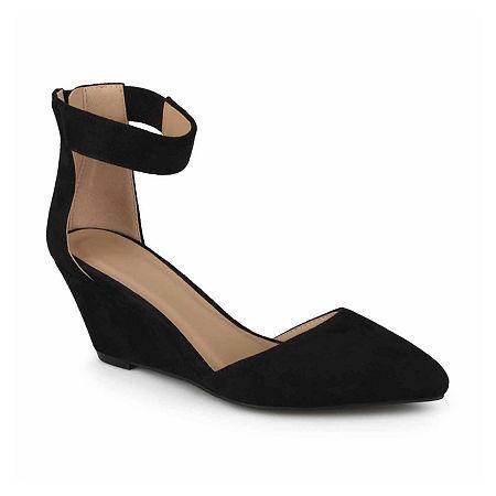 Journee Collection Womens Kova Slip-On Shoes, 10 Medium, Black