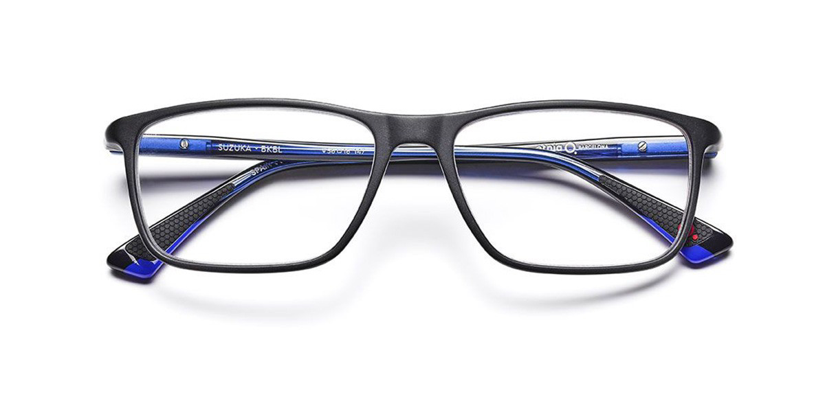 Etnia Barcelona Suzuka BKBL Mens Glasses Black Size 54 - Free Lenses - HSA/FSA Insurance - Blue Light Block Available