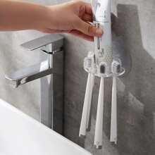 1pc Multifunction Wall Mounted Toothbrush Holder