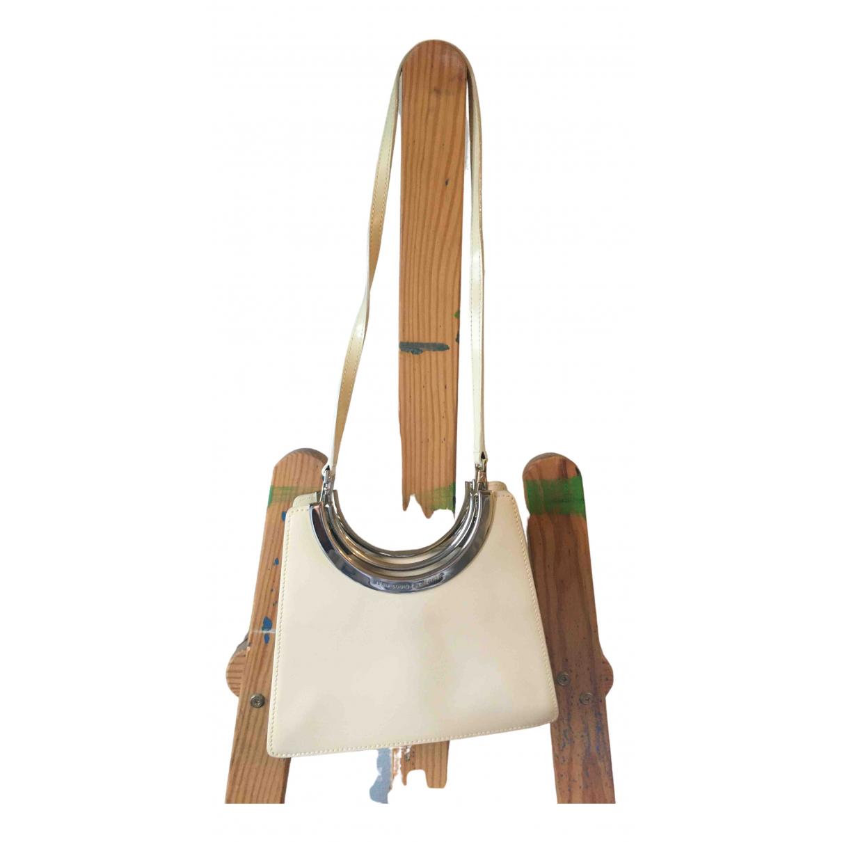 Jean-louis Scherrer N White Leather Clutch bag for Women N