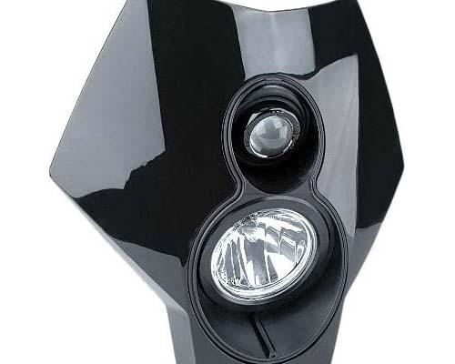 Trail Tech 37T2-70 X2 Dual Sport Halogen Light Black 37T2-70