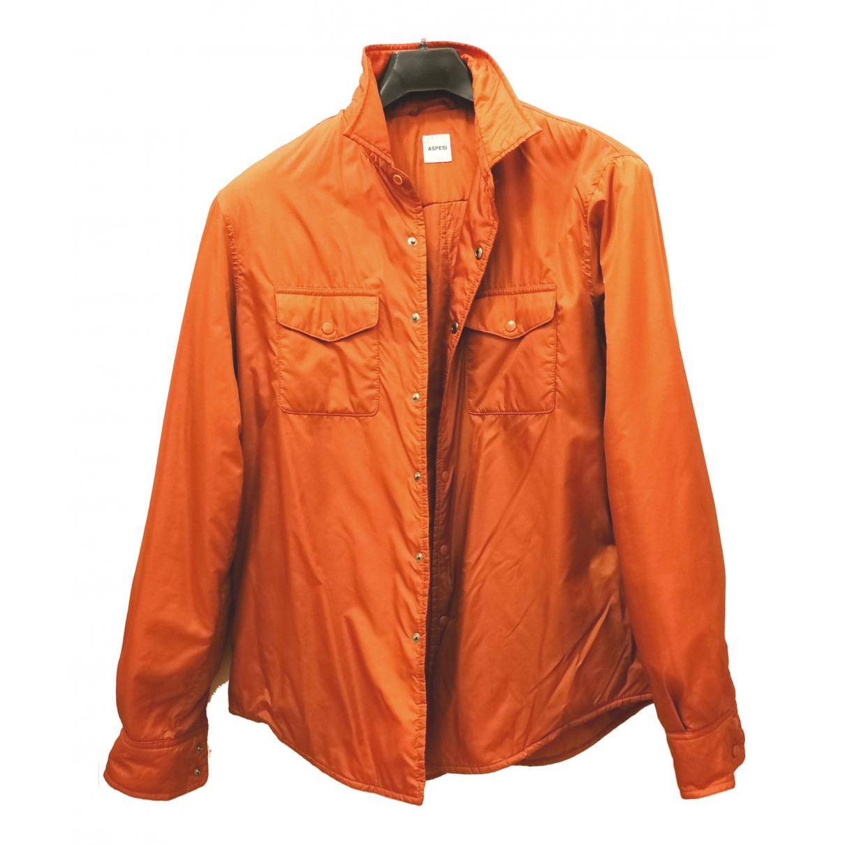 Aspesi \N Jacke in  Orange Synthetik