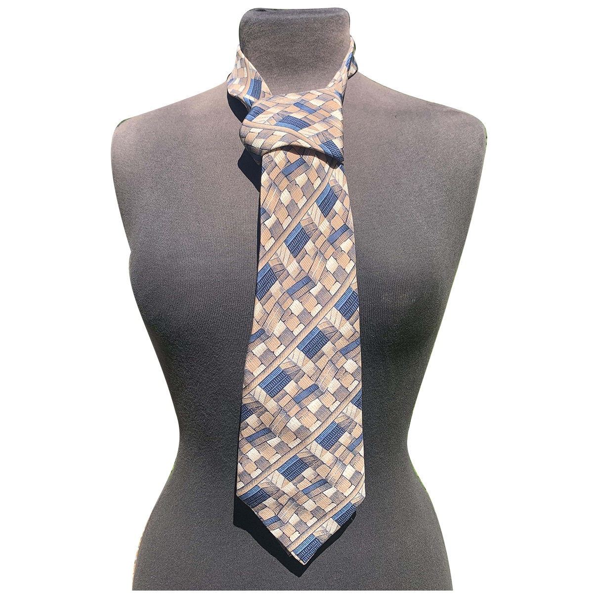 Nina Ricci \N Blue Silk Ties for Men \N