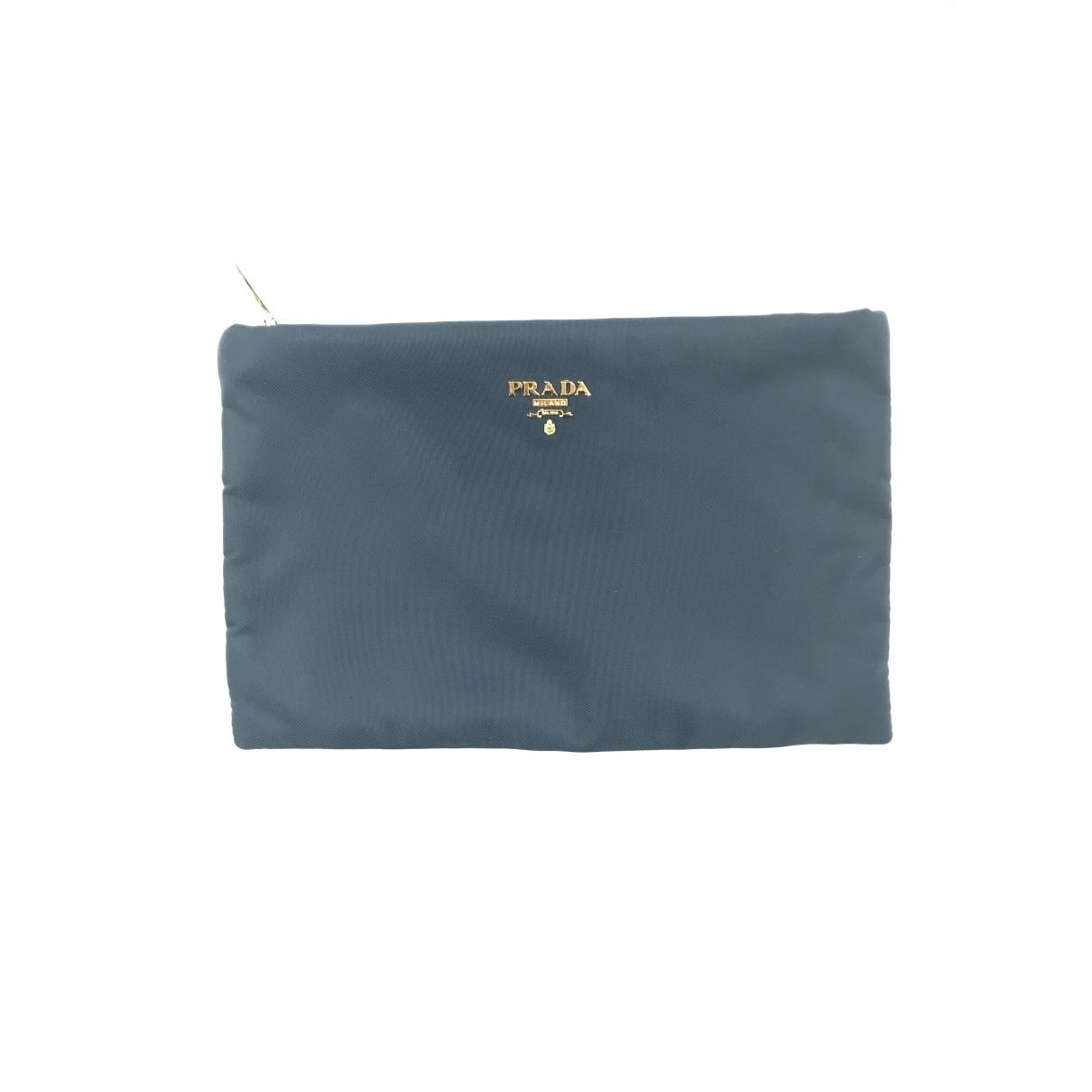 Prada \N Blue Purses, wallet & cases for Women \N