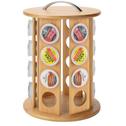 Porte-dosettes à café en portion individuelle K-Cup Bamboo, capacité 24 - SortWise™