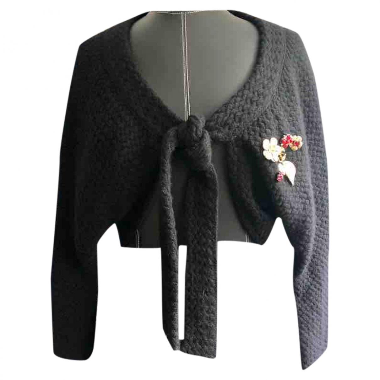 Dolce & Gabbana - Pull   pour enfant en laine - noir