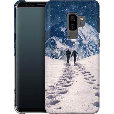 Samsung Galaxy S9 Plus Smartphone Huelle - Pale Blue Dot von Enkel Dika