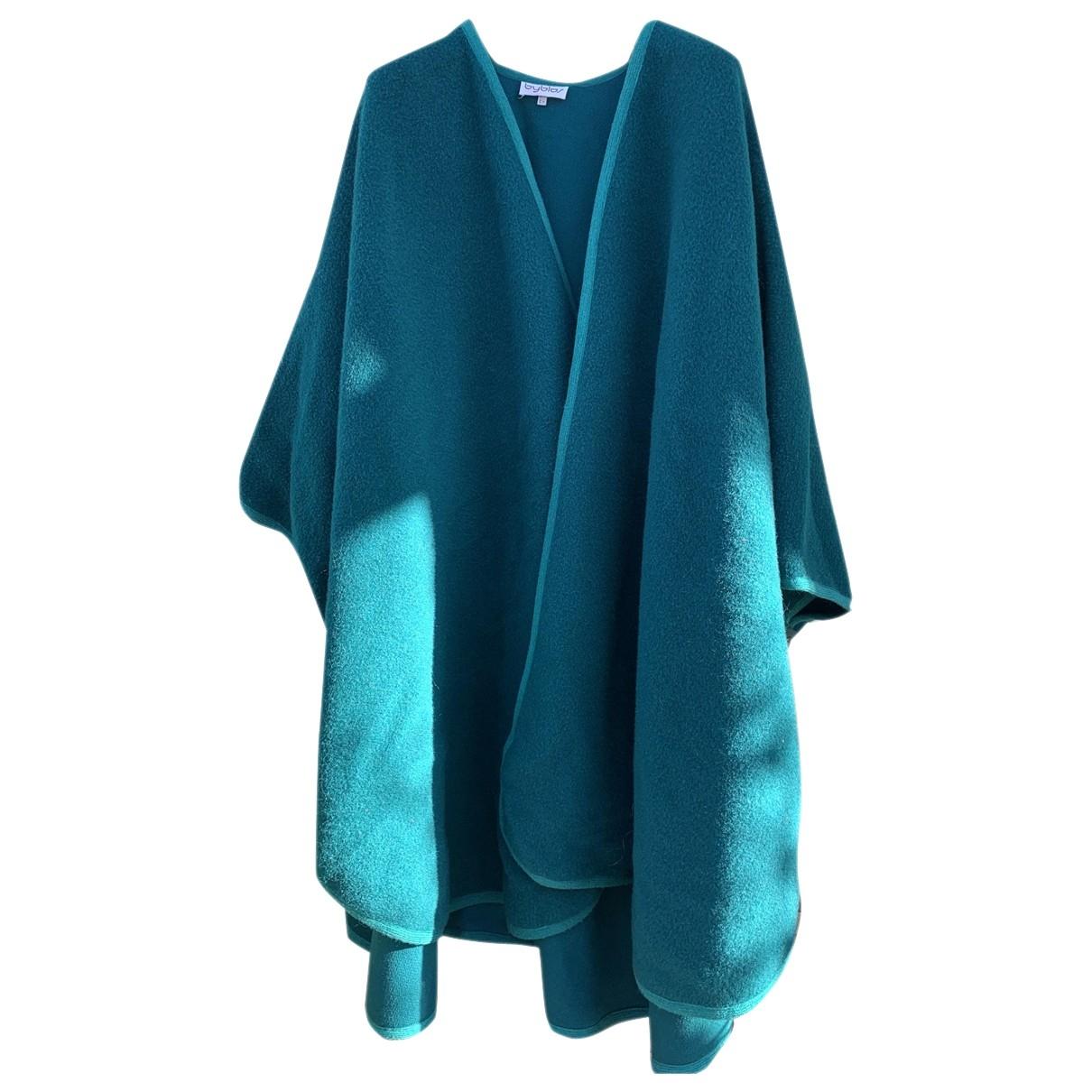 Byblos \N Green Wool jacket for Women 40 IT
