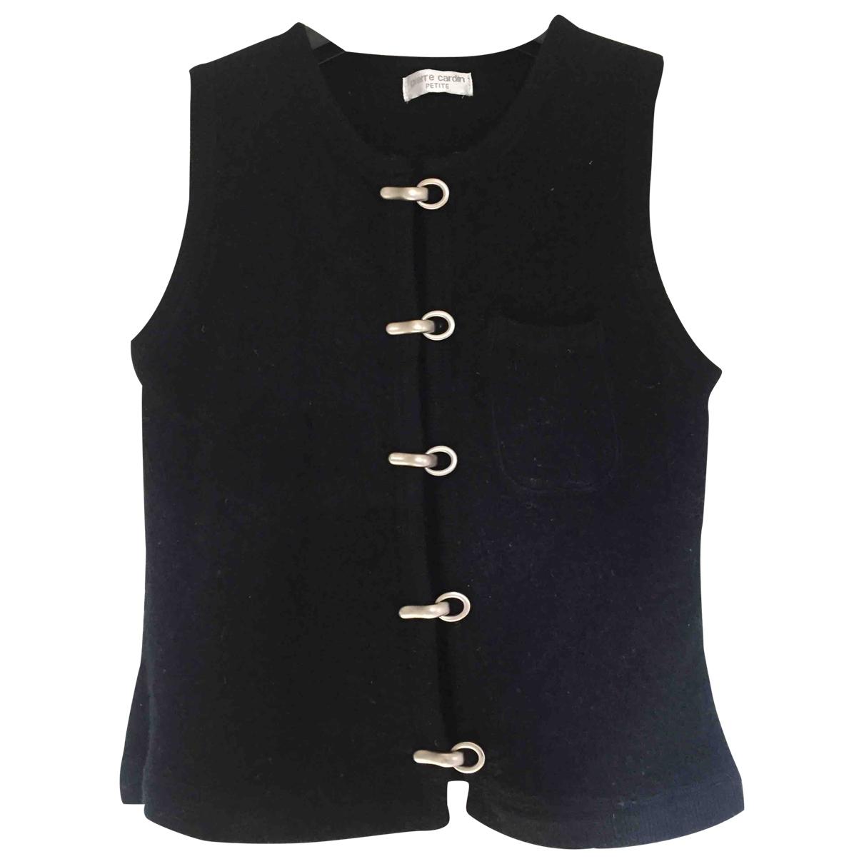 Pierre Cardin \N Black Wool jacket for Women S International