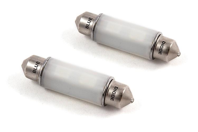 Diode Dynamics DD0317P 41mm HP6 LED Bulb Blue Pair