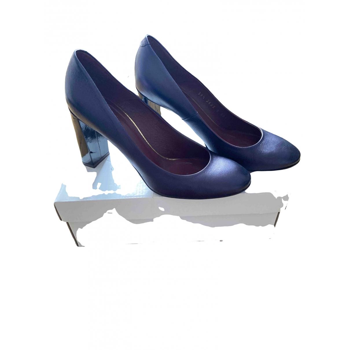 Gino Rossi - Escarpins   pour femme en cuir - violet
