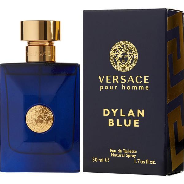Versace - Dylan Blue : Eau de Toilette Spray 1.7 Oz / 50 ml