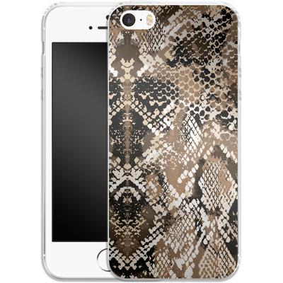 Apple iPhone SE Silikon Handyhuelle - Snakeskin von caseable Designs