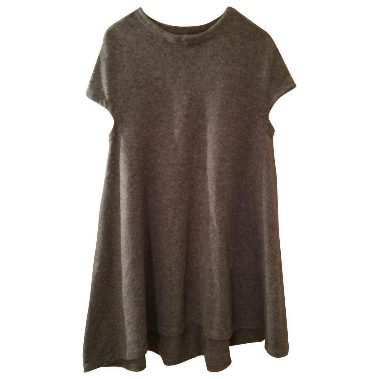 Balenciaga \N Grey Wool dress for Women 40 FR