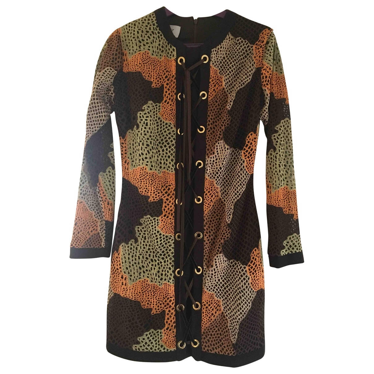 Non Signé / Unsigned \N Multicolour Cotton dress for Women S International