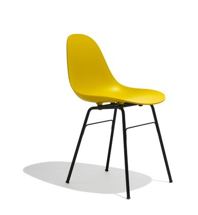 TA Collection TO-1533M-1502B Armchair/Er Base Black Powder Coated/Mustard