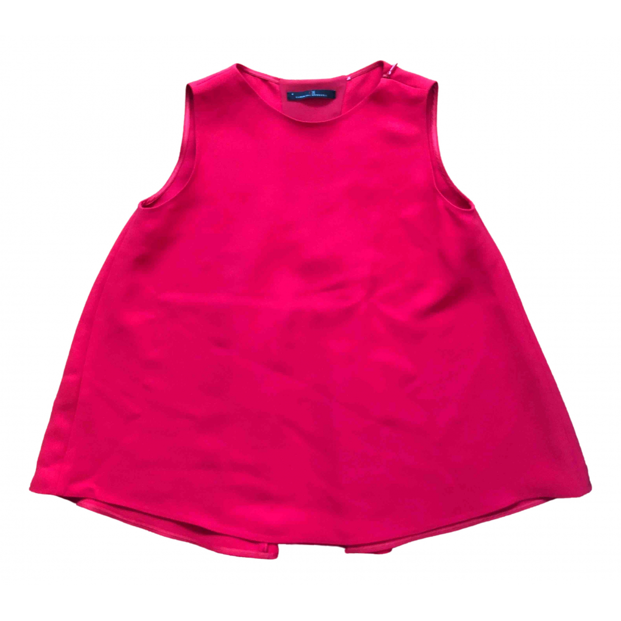Carolina Herrera - Top   pour femme - rouge