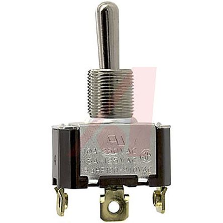 Carling Technologies SPDT Toggle Switch, (On)-Off-(On), Panel Mount