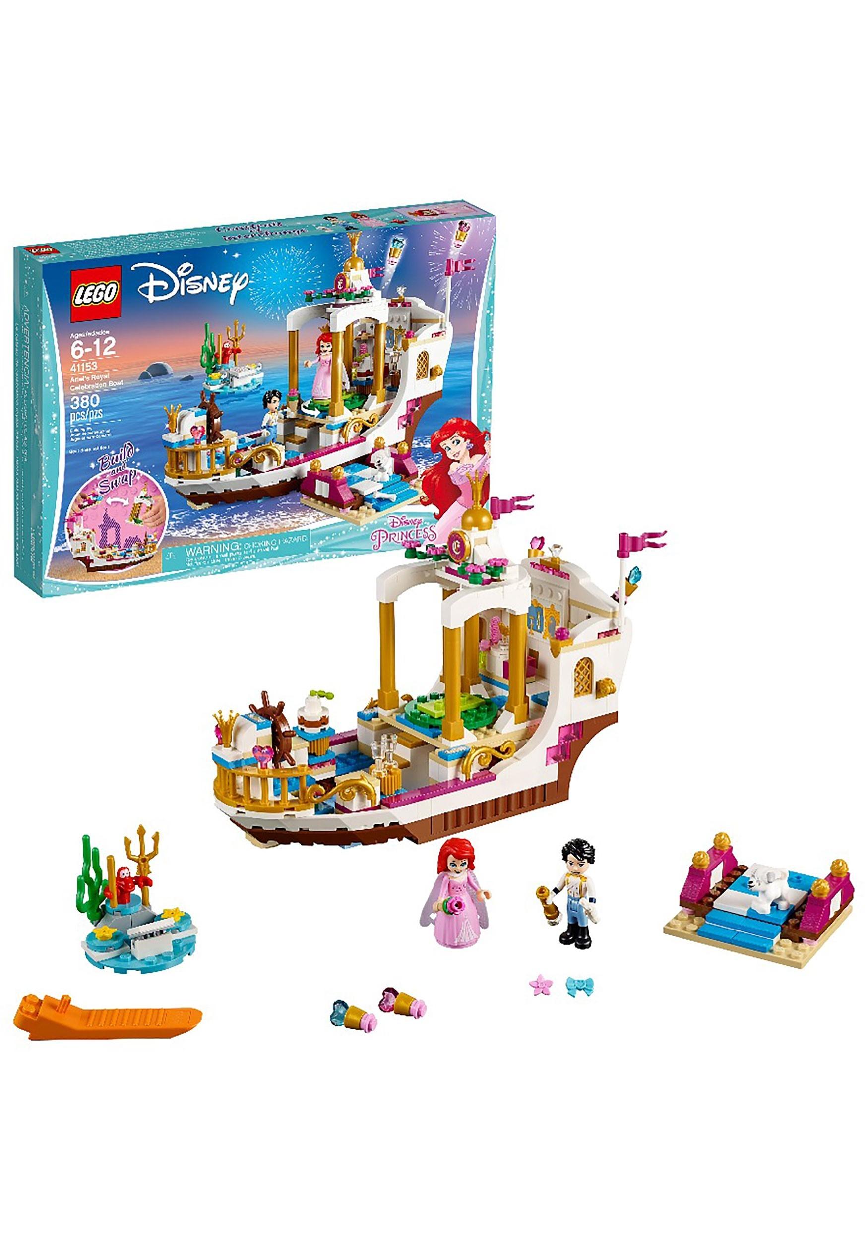 LEGO Disney Princess Ariel's Royal Celebration Boat 380pc Set