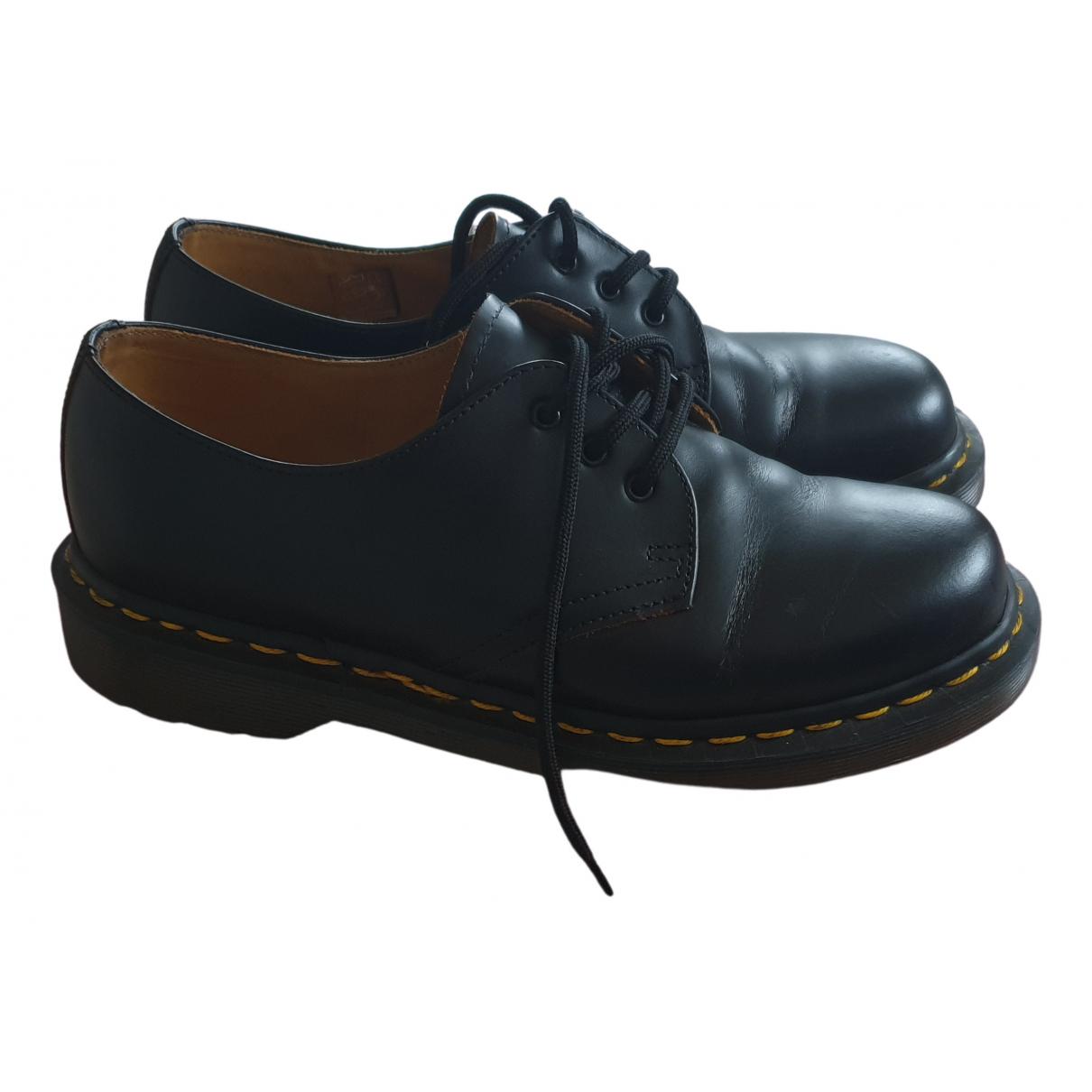 Dr. Martens 1461 (3 eye) Black Leather Lace ups for Women 5 UK