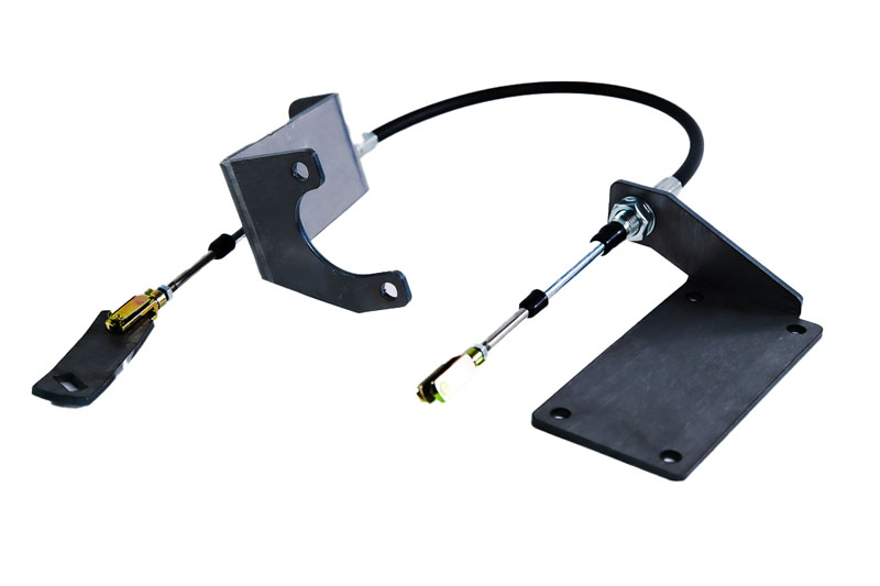 Gatekeeper Off Road Jeep TJ Cable Shifter Kit For 97-06 Wrangler TJ Gloss Black