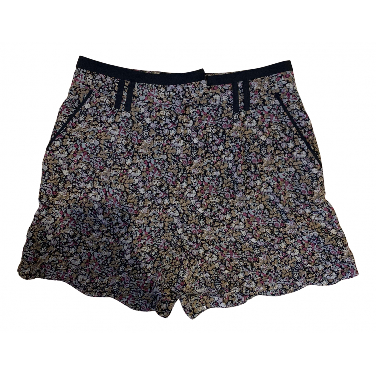 The Kooples N Pink Silk Shorts for Women 40 FR