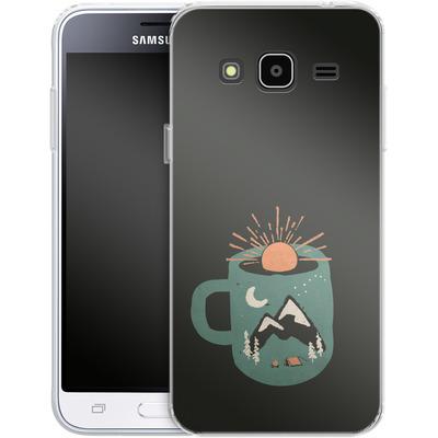 Samsung Galaxy J3 (2016) Silikon Handyhuelle - Mountain Morning Wakeup von ND Tank