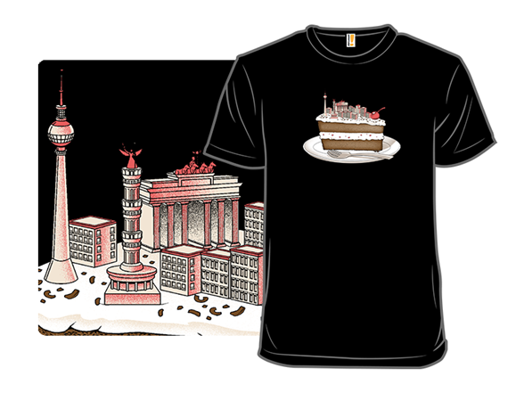 Hungry For Travels: Slice Of Berlin T Shirt