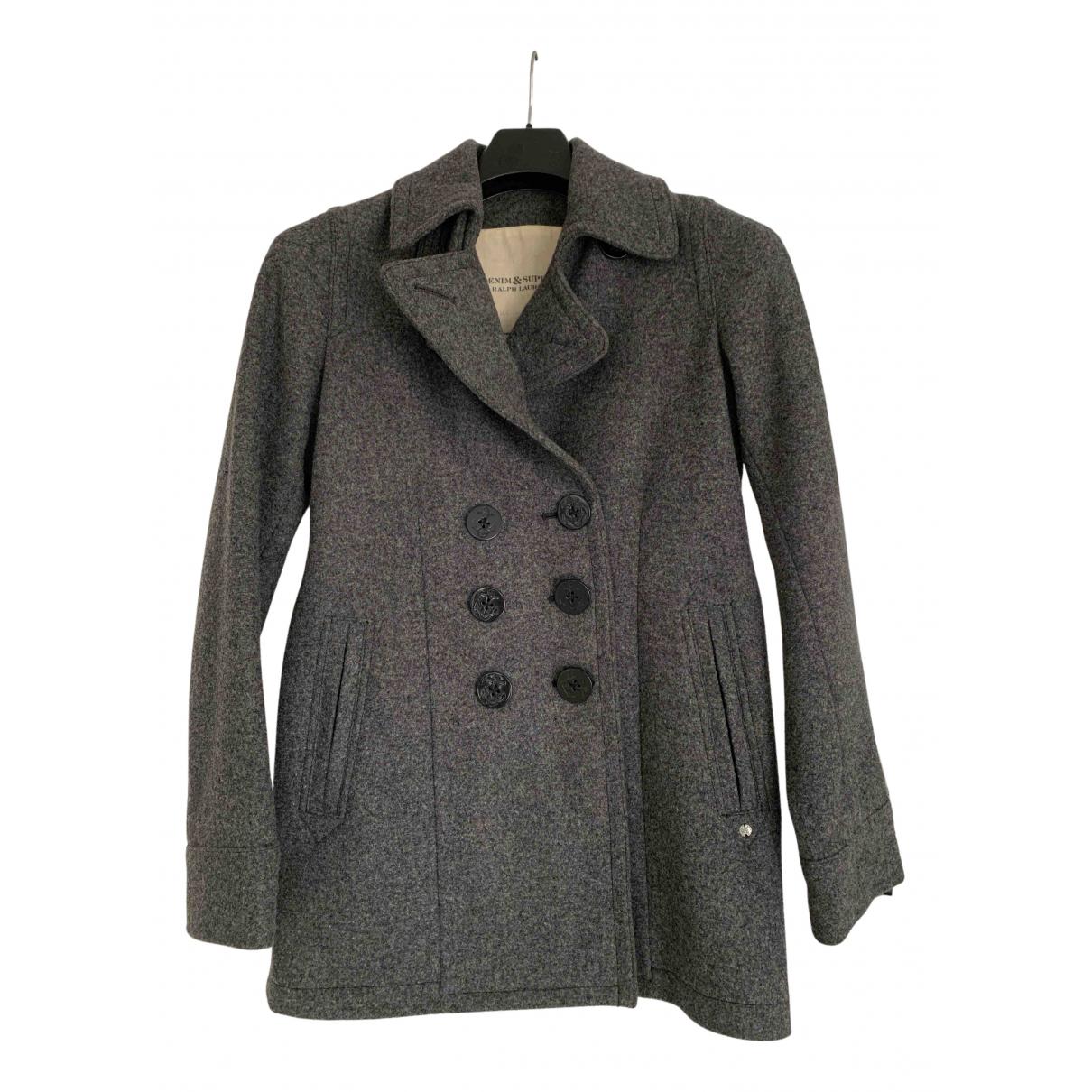 Ralph Lauren N Grey Wool coat for Women S International