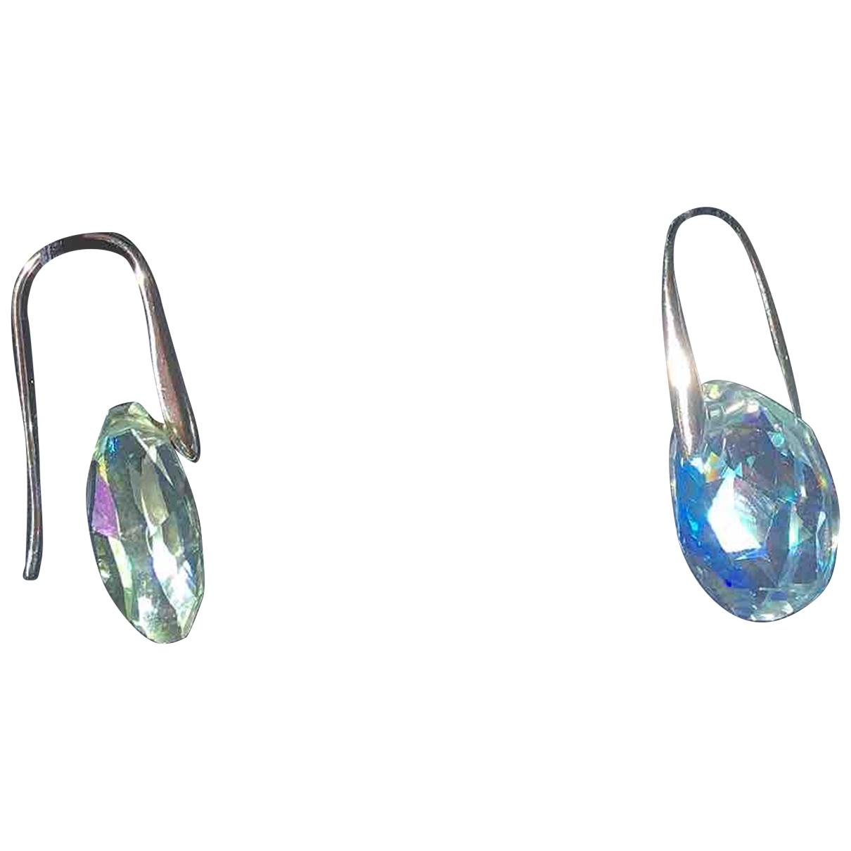 Swarovski \N Blue Crystal Earrings for Women \N